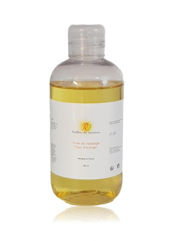 Perfumed body massage oil