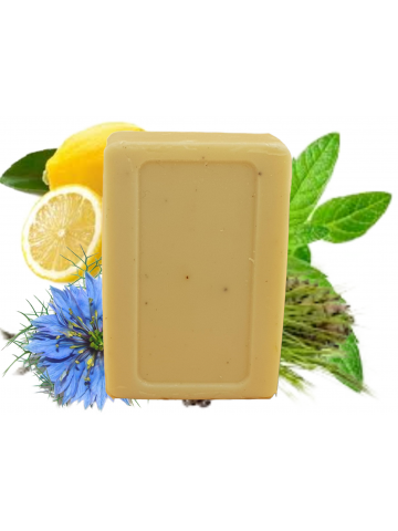 Emollient soap with Organic Black seed oil and Alpine...
