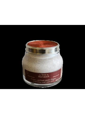 Body scrub Argan grains Amber Musk