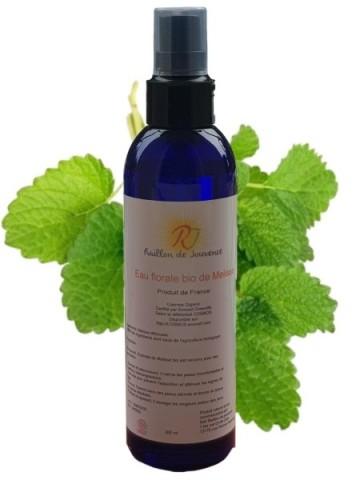 Organic lemon balm hydrosol