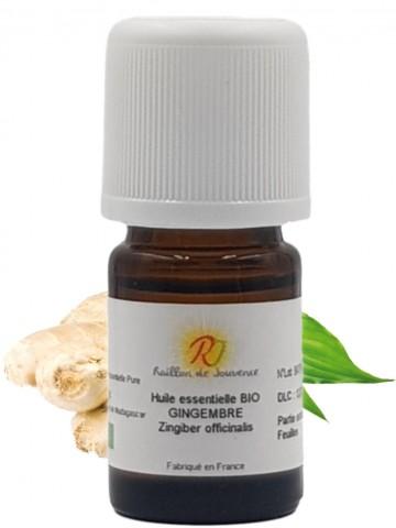 Organic ginger essential oil