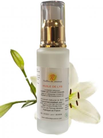 Organic lily oil