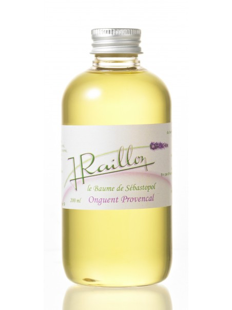 Le baume de sebastopol - Onguent Provencal
